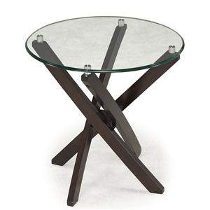 Magnussen Home Xenia Round End Table