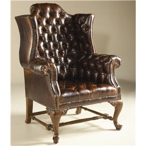 Exceptionnel Maitland Smith Chairs Tufted Drag Croc Leather Chair