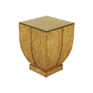 Maitland-Smith End Tables Natural Finished Occasional Table