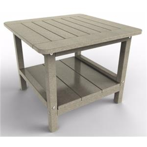Malibu Outdoor Furniture Outdoor Square End Table by Malibu Outdoor Living