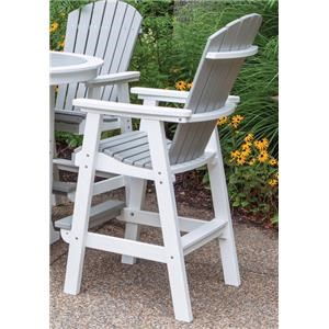 Bar Height Outdoor Dining Chair