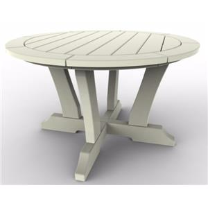 Malibu Outdoor Furniture Outdoor Round Conversation Table by Malibu Outdoor Living