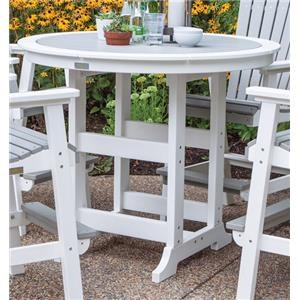 Bar Height Outdoor Dining Table