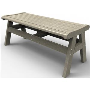 "Malibu Outdoor Living Malibu Outdoor Furniture Newport 48"" Bench"