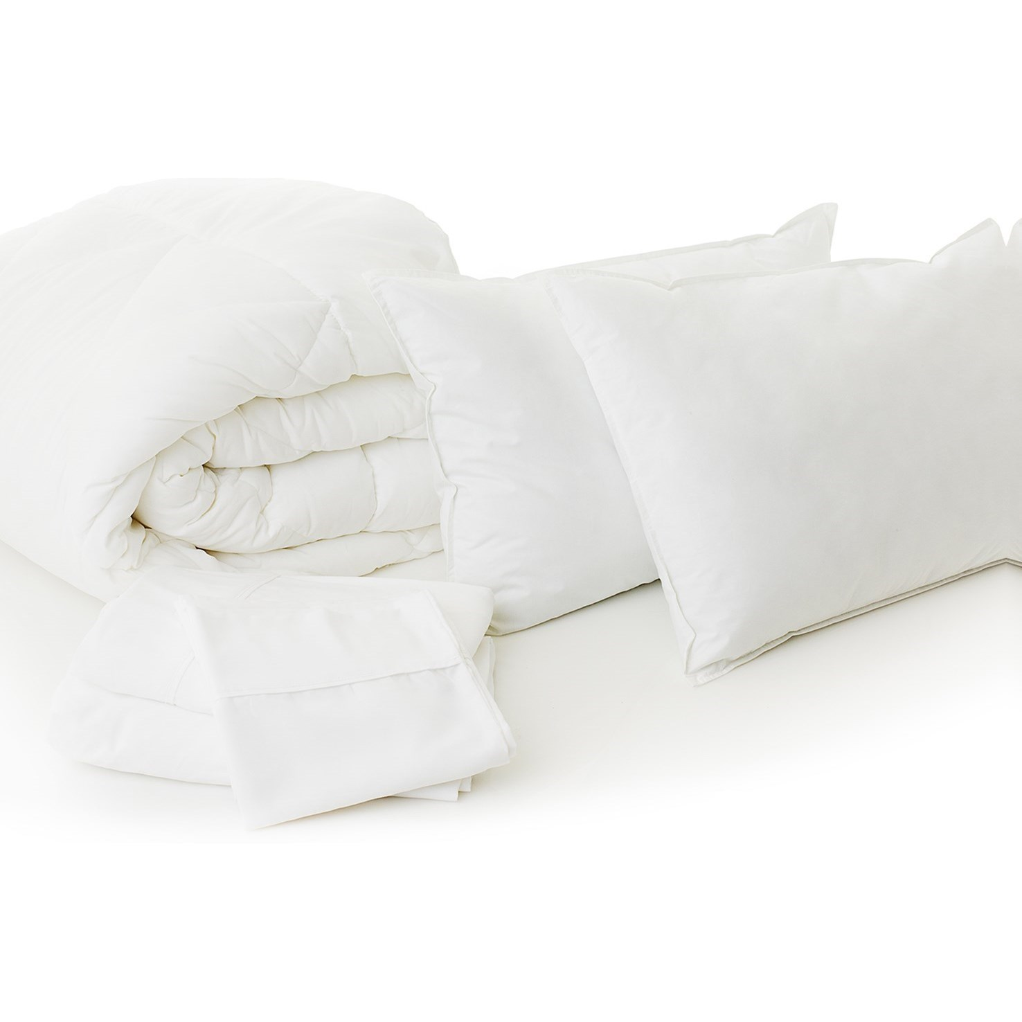 Malouf Bed in a Bag Cal King Bed in a Bag  - Item Number: MA01CKBB