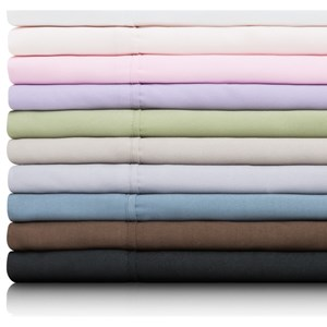Malouf Brushed Microfiber Queen Woven™ Brushed Microfiber Olympic Set