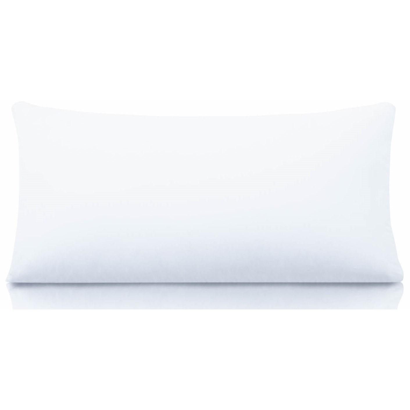 Standard Cotton Encased Down Blend Pillow