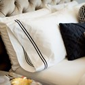 Malouf Cotton Percale King 200 TC Cotton Percale Duvet Cover