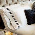 Malouf Cotton Percale Queen 200 TC Cotton Percale Duvet Cover