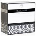 Malouf Cotton Percale Split Cal King 200 TC Cotton Percale Sheet Set