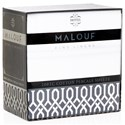 Malouf Cotton Percale Split Cal King 200 TC Cotton Percale Sheet Set