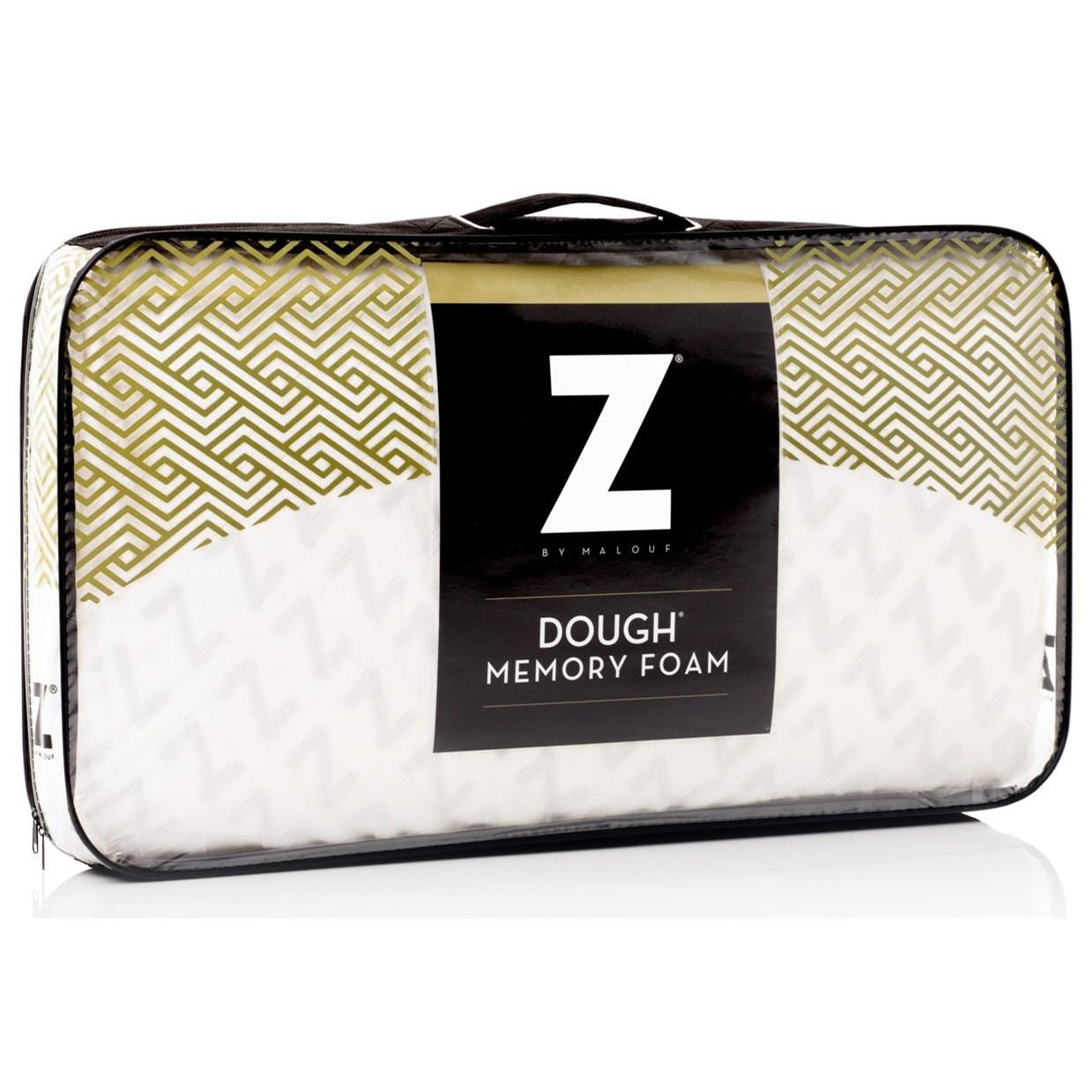 Malouf Dough Standard Dough Low Loft Plush Pillow - Item Number: ZZSSLPDF
