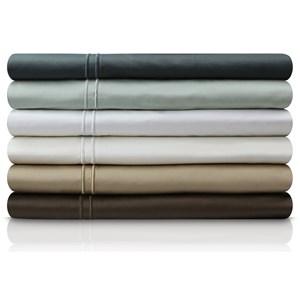 Malouf Egyptian Cotton Split Cal King 400 TC Egyptian Cotton Sheet