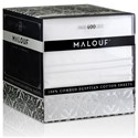 Malouf Egyptian Cotton Split King 400 TC Egyptian Cotton Sheet Set