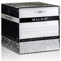 Malouf Egyptian Cotton Twin 400 TC Egyptian Cotton Sheet Set