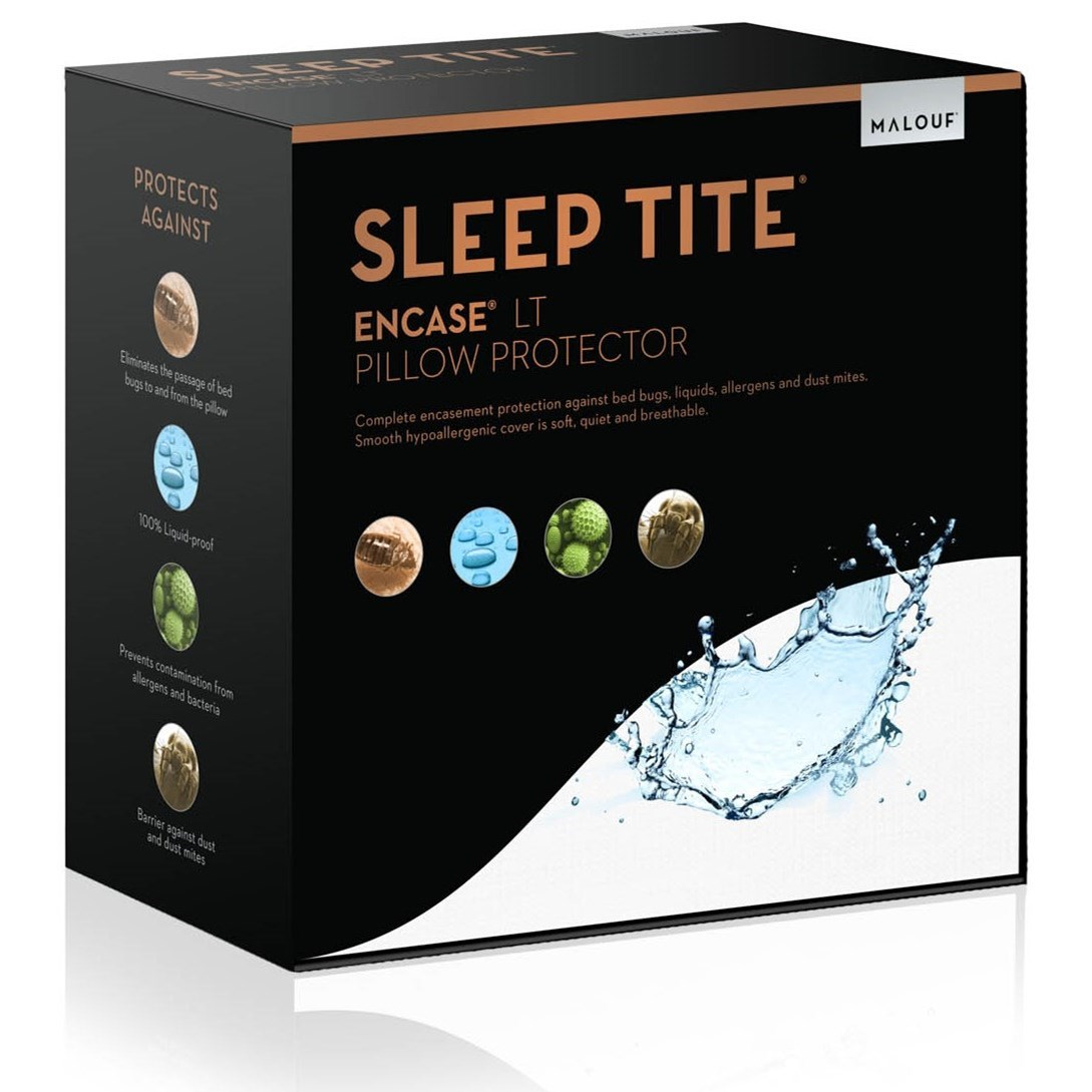Malouf Encase LT King Encase LT Pillow Protector - Item Number: SL0P12KKPE
