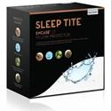 Malouf Encase LT Standard Encase LT Pillow Protector - Item Number: SL0P12STPE