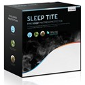 Malouf Five 5ided Omniphase Split Cal King Five 5ided Mattress Protector - Item Number: SLOTSC5P