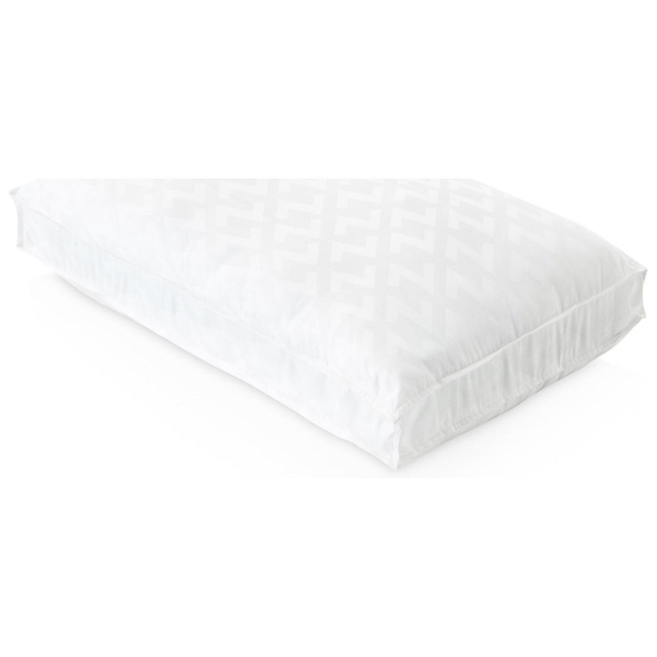 Malouf Gel Convolution™ Queen Gel Convolution™ High Loft Pillow - Item Number: ZZQQHPCOGF