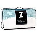Malouf Gel Dough and Dual Z™ Gel Queen Gel Dough + Dual Z™ Gel High Loft Pillow
