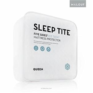Malouf Mattress Protectors King 5 Sided Ice Tech Mattress Protector