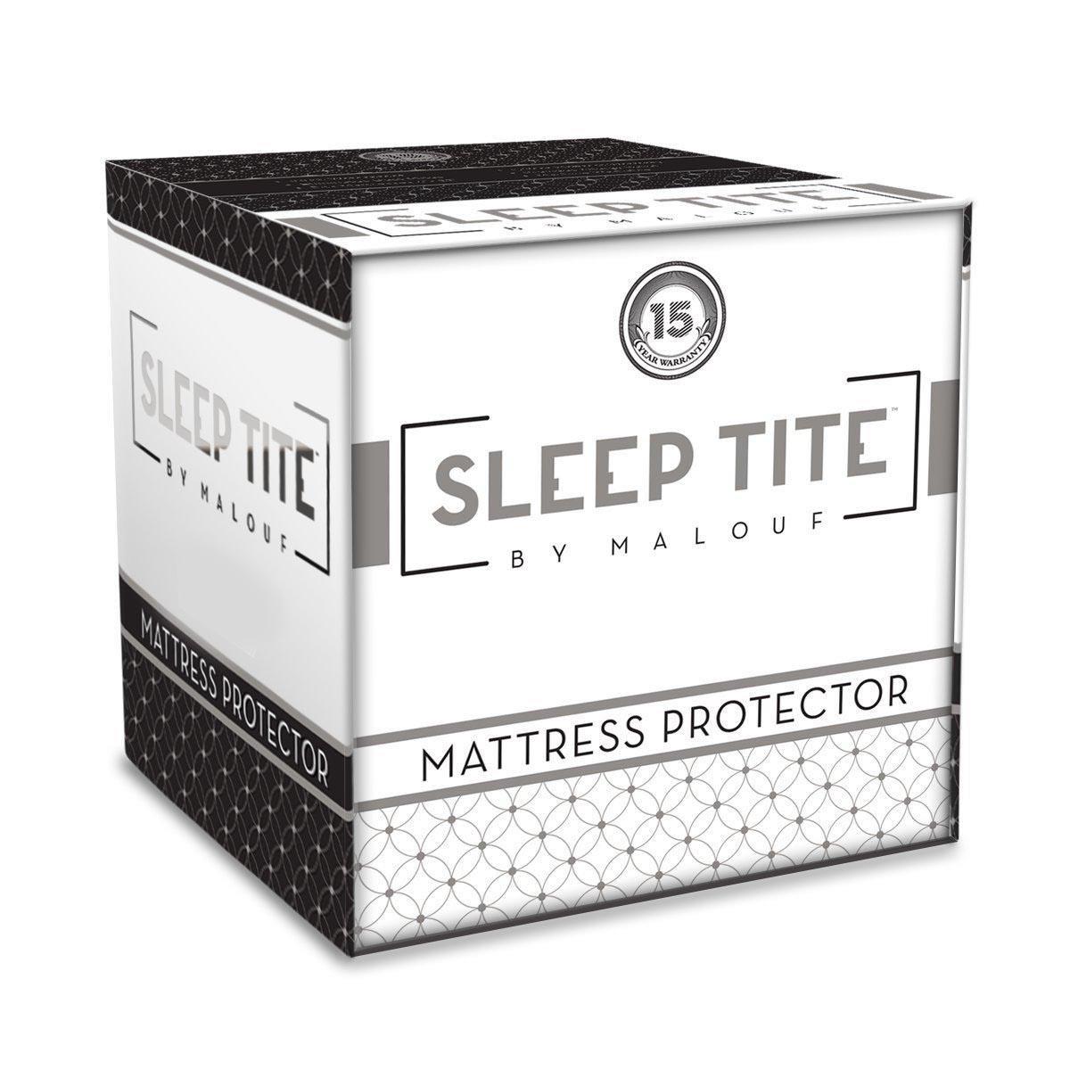 Malouf Mattress Protectors Twin XL Sleeptite Mattress Protector - Item Number: SLOOTXMP