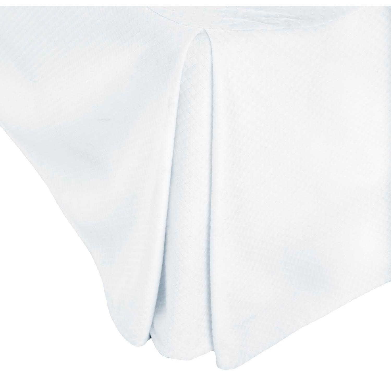 Malouf Matelassé© Full Bed Skirt - Item Number: WO14MDFFBE