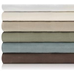 Malouf Portuguese Flannel King Woven™ Portuguese Flannel Pillowcases