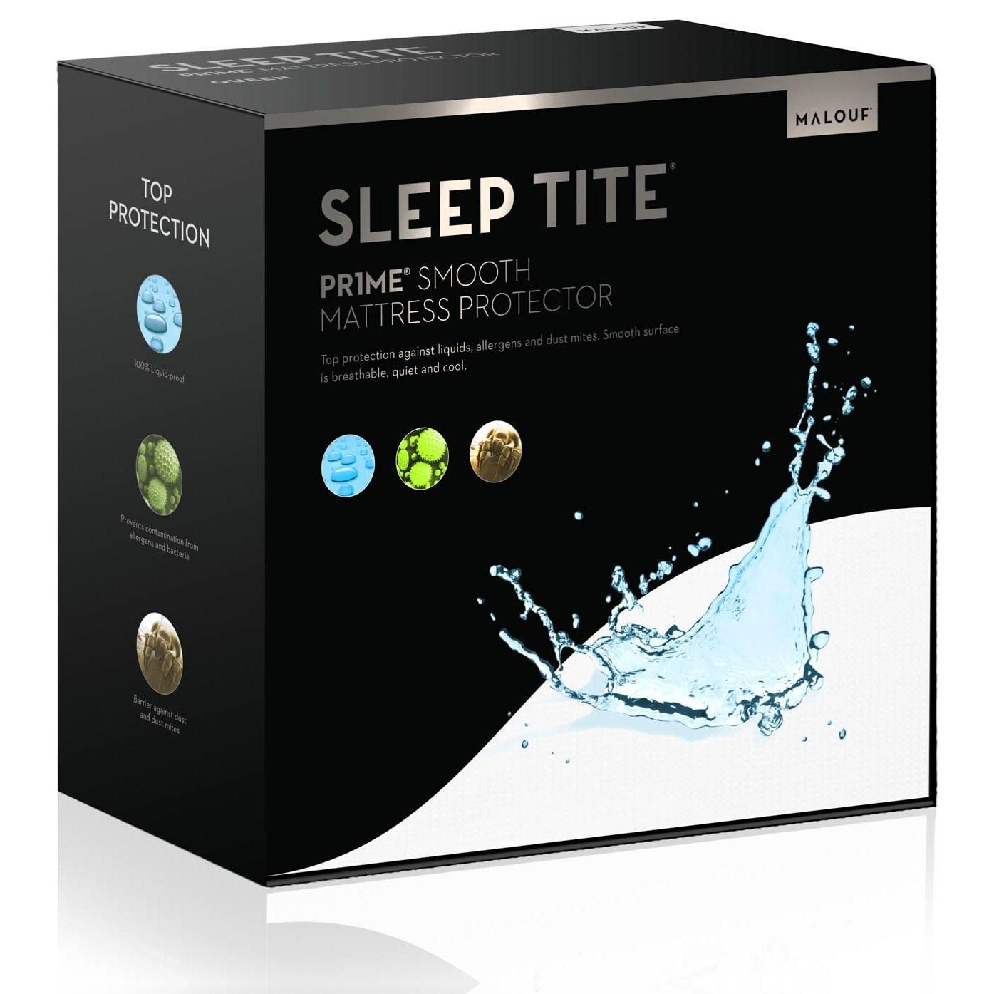 Malouf Pr1me Smooth Standard Pr1me Smooth Pillow Protector - Item Number: SL0PSTPP