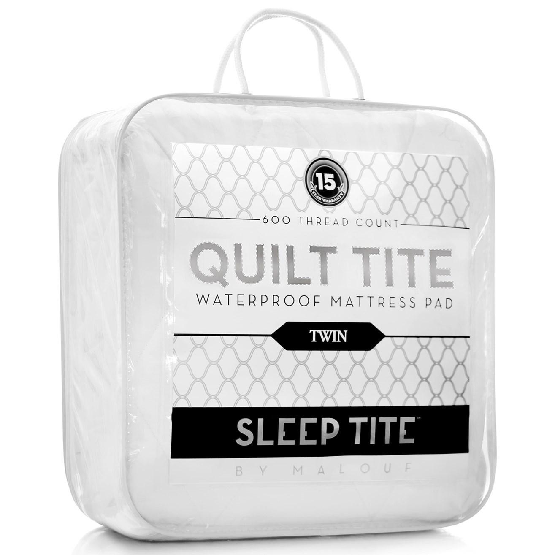Malouf Quilt Tite Twin Quilt Tite Mattress Protector - Item Number: SL06TTQT
