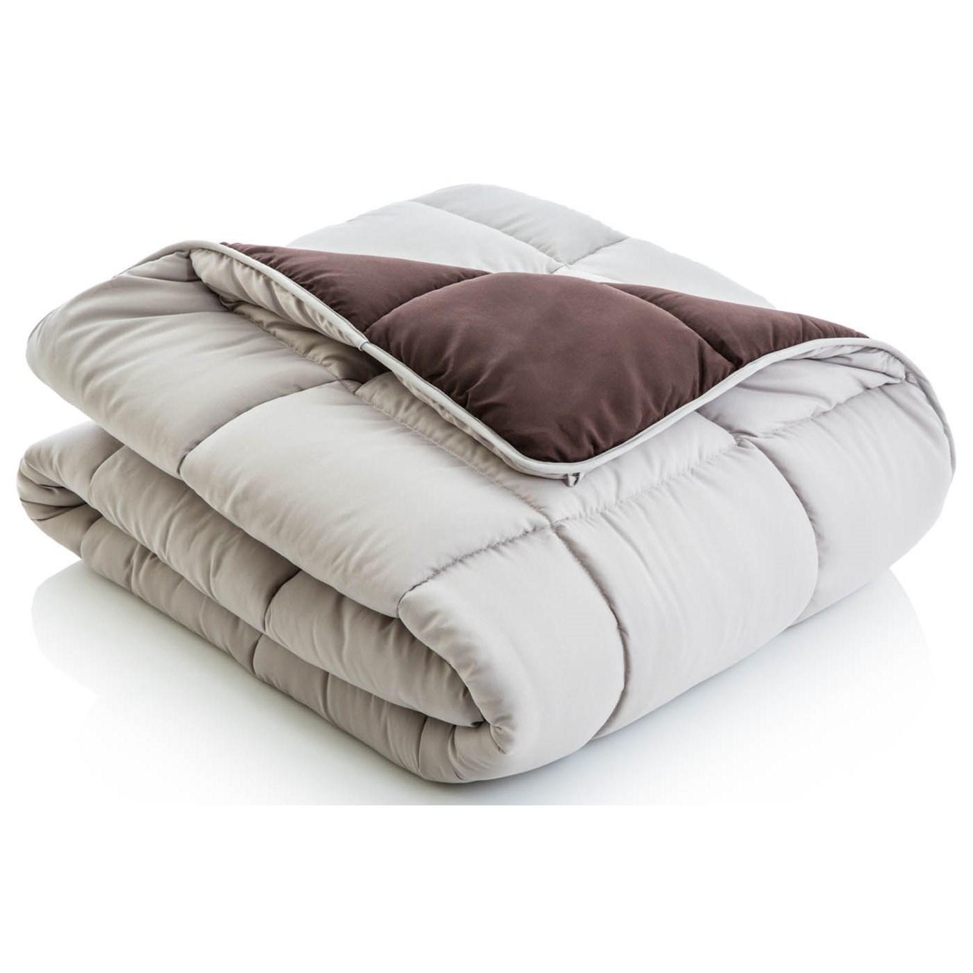 Malouf Reversible Bed in a Bag Split Queen Reversible Bed in a Bag - Item Number: MA01SQDRCOBB