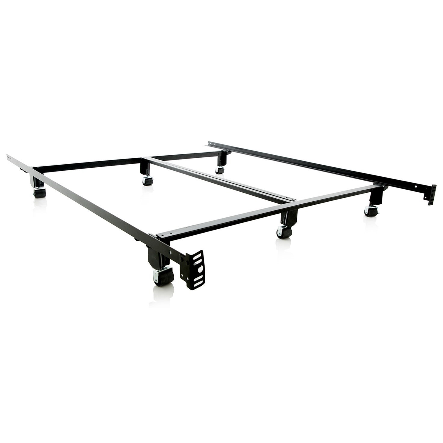 Malouf Steelock Cal King Steelock Bed Frame - Item Number: ST00CKSL
