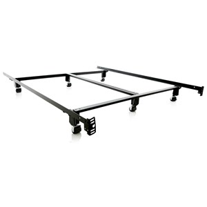 Malouf Steelock Cal King Steelock Bed Frame