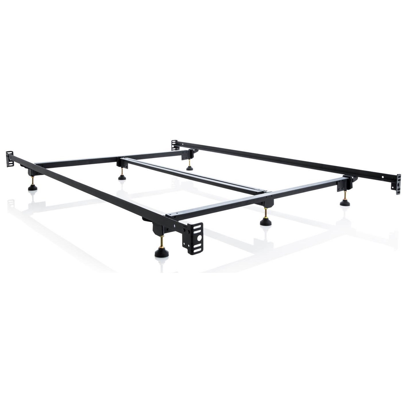 Malouf Steelock Full Steelock Adaptable Hook-In Bed Frame - Item Number: STBHFFSL