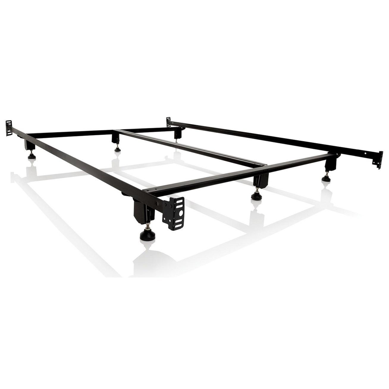Malouf Steelock Twin Steelock Bolt-On Bed Frame - Item Number: STHFTTSL