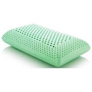 Malouf Zoned Dough Peppermint Queen Zoned Dough Peppermint Pillow