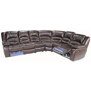 cheers sofa xw8279m 4 piece sectional sofa