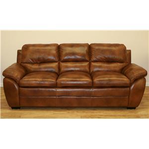 Cheers 8502 Stationary Leather Sofa
