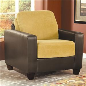 March Upholstery Malibu Contemporary Upholstered Chair