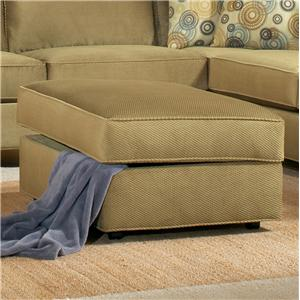 Belfort Essentials Fleetwood Storage Ottoman