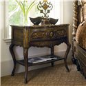 Marge Carson Les Marches Nightstand - Item Number: LEM12-1