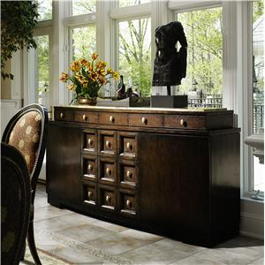 Rue Royale Contemporary Credenza with Granite Top by Marge Carson