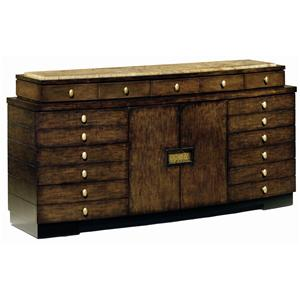 Rue Royale Contemporary Door Dresser with Granite Top by Marge Carson