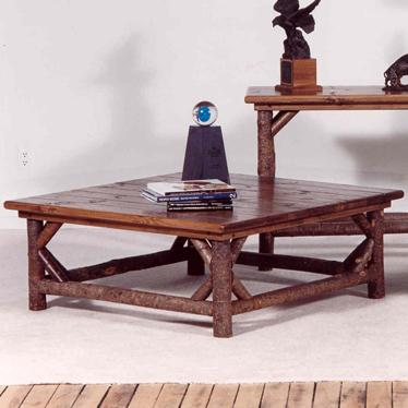 Marshfield Bayfield Tables Rustic Square Coffee Table Conlin S Furniture Cocktail Coffee Tables
