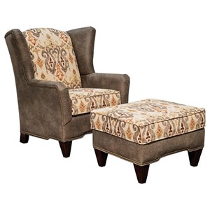 Marshfield Preston Chair & Ottoman