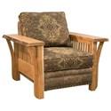 Marshfield Rustic Edge Chair - Item Number: 1951-01-1147