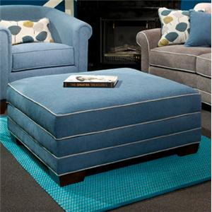 Marshfield Simply Yours Custom Built Square Storage Ottoman