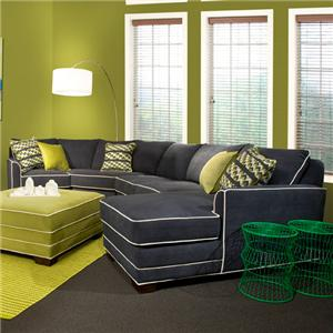 Marshfield Simply Yours 3 Pc Custom Built Sectional Sofa