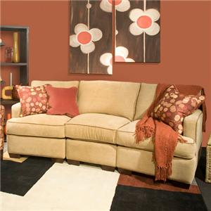 Marshfield Simply Yours Three Piece B Customizable B Sectional