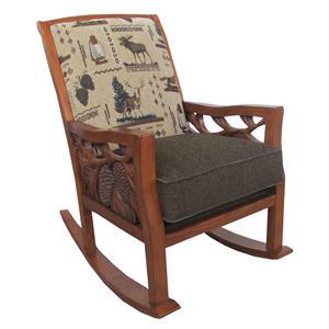 Marshfield Woodland Rocker Chair